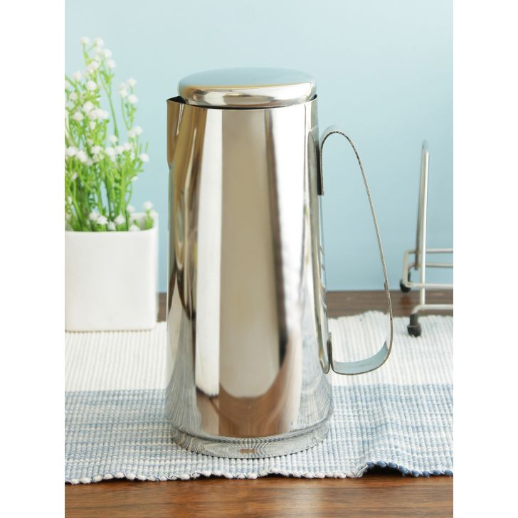 Living essence Stainless steel Jug in Steel Colour by Living Essence