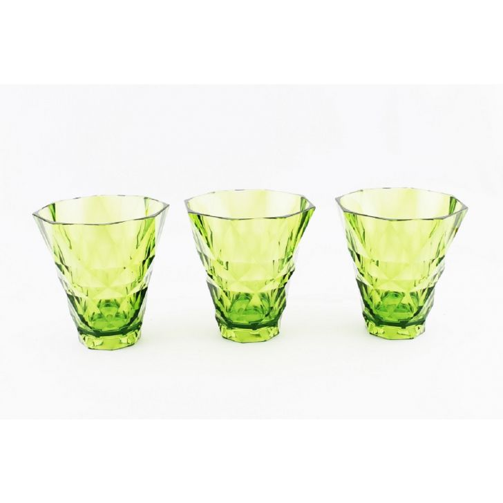 Nani Tritan Glasses & Tumblers in Green Colour by Living Essence