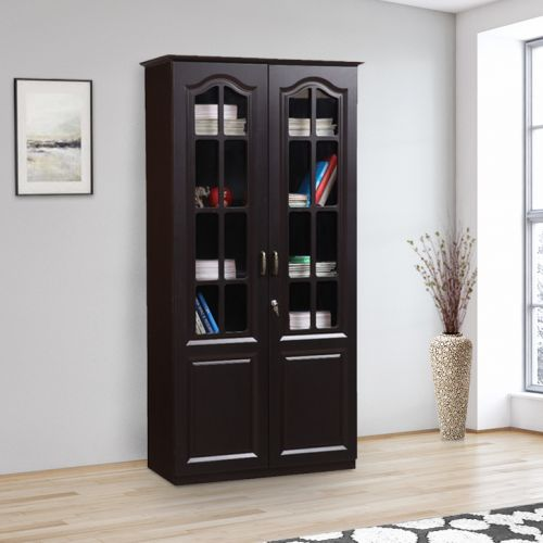 Mandarin Engineered Wood Book Shelf In Wenge Colour By HomeTown
