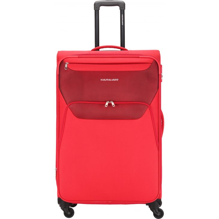 Kamiliant by American Tourister Bali 79 cm Soft Trolley (Red)