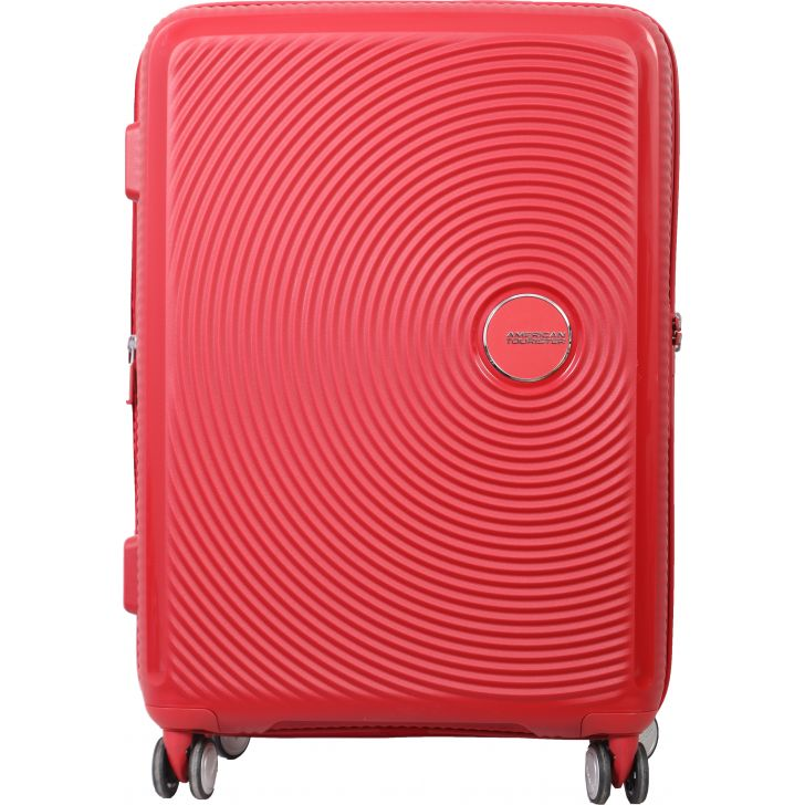 American Tourister Curio Spinner Hard Trolley 69 cm (Red)