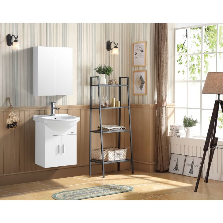 Convexa Bath Vanity in White Colour by HomeTown