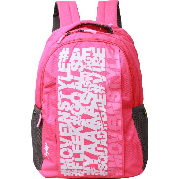 Skybags New Neon 14 Backpack (Pink)