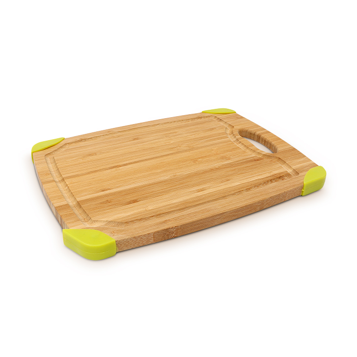 Living Essence Bamboo Chopping Board Brown