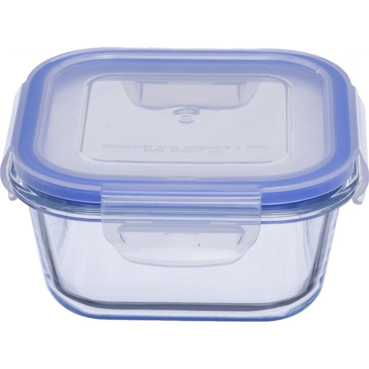 Lock & Lock Glass Square Container 600 Ml by Sanjeev Kapoor