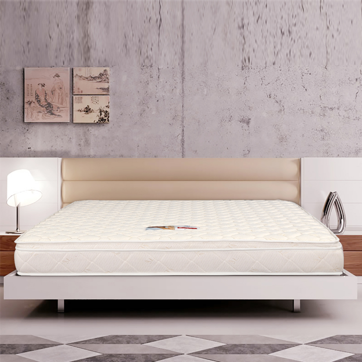 Mattress Majestic Pocket Spring King Bed (78*72*6) in Cream Colour by HomeTown