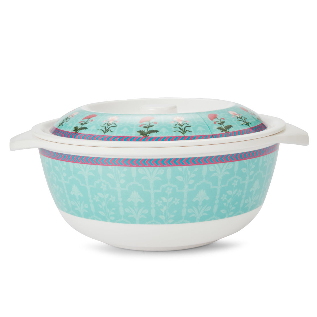 Rambagh Cassrero With Lid Casseroles in Multicolour Colour by Living Essence