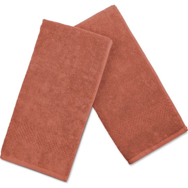 Swift Dry Cotton Hand Towel 40X60 Cm 450 Gsm in Rust Colour