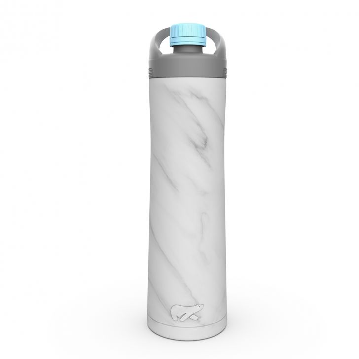 HydeTwist Stainless steel Insulated Bottle 750 ml in White Colour