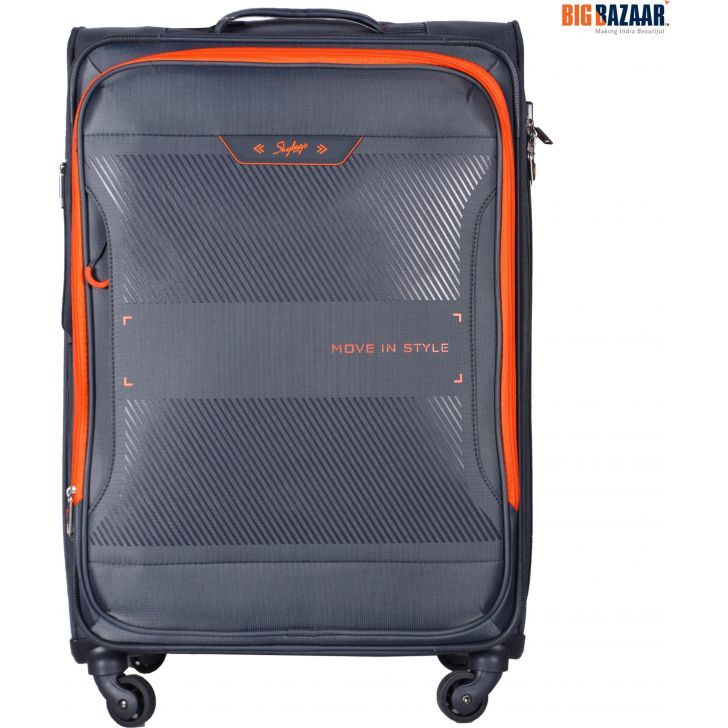 Skybags Xpanse Spinner Soft Trolley 71 cm (Grey)