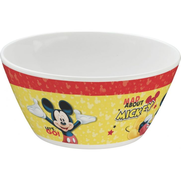 Mickey Melamine Kids Cone Bowl in Multi Colour by Servewell