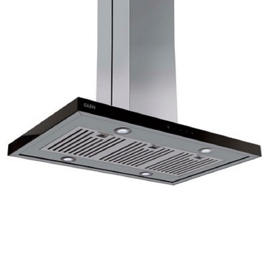 Glen Stainless steel Electric Island Chimney 6052 Touch Sensor by Glen