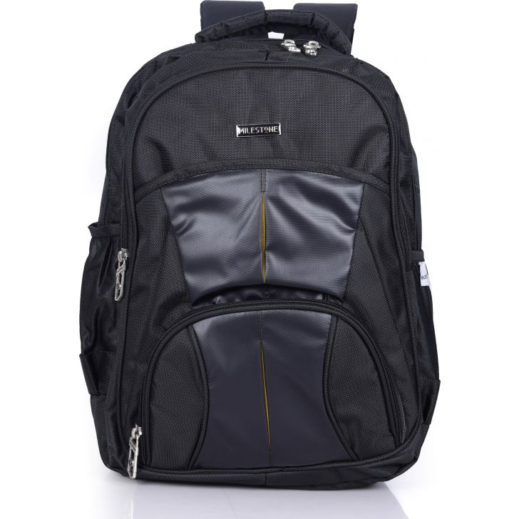 Milestone Star 01 Laptop Backpack (Black)