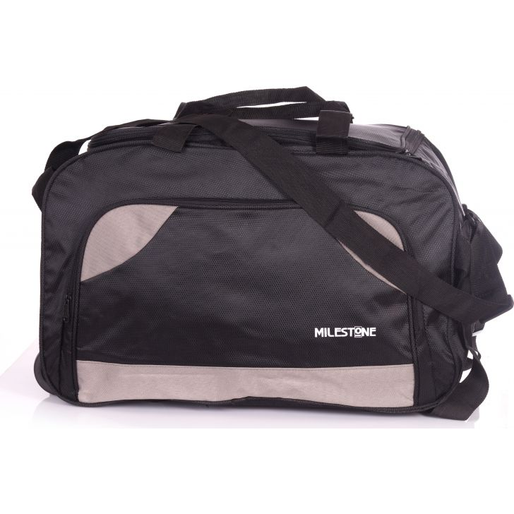 Milestone Speed 01 Duffle on Wheel (Black)