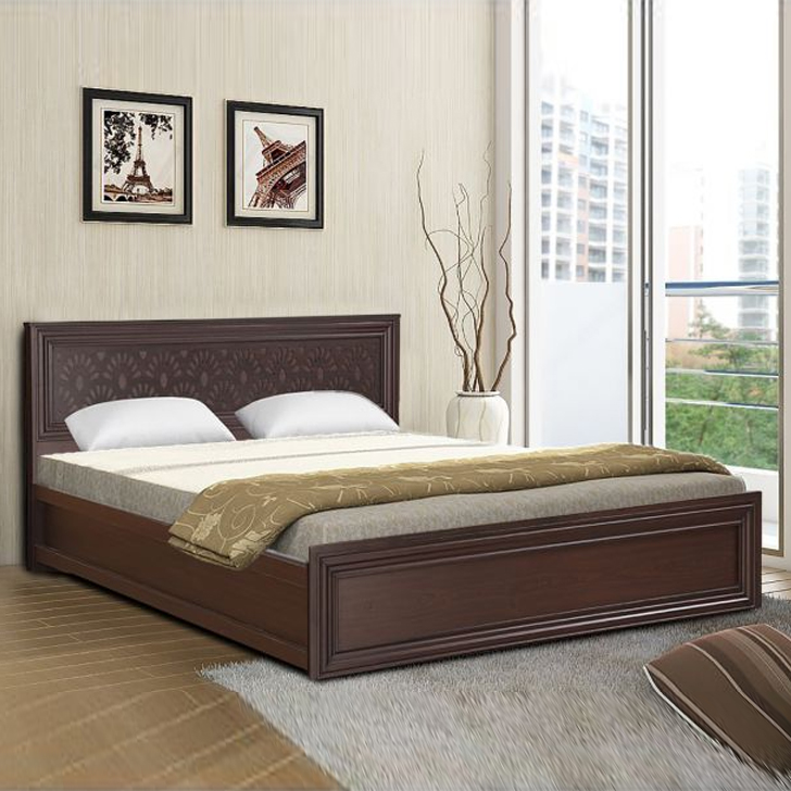 Savana Engineered Wood Box Storage Queen Size Bed in Vermount Colour by HomeTown