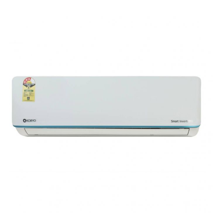 Koryo 1.5 Ton 3 Star Split Inverter AC - White (IBKSIAO1818A3S INB18, Copper Condenser) in White Colour by Koryo