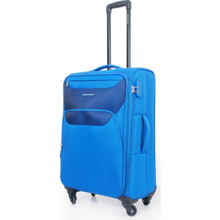 Kamiliant By American Tourister Bali Soft Trolley 56 cm (Blue)