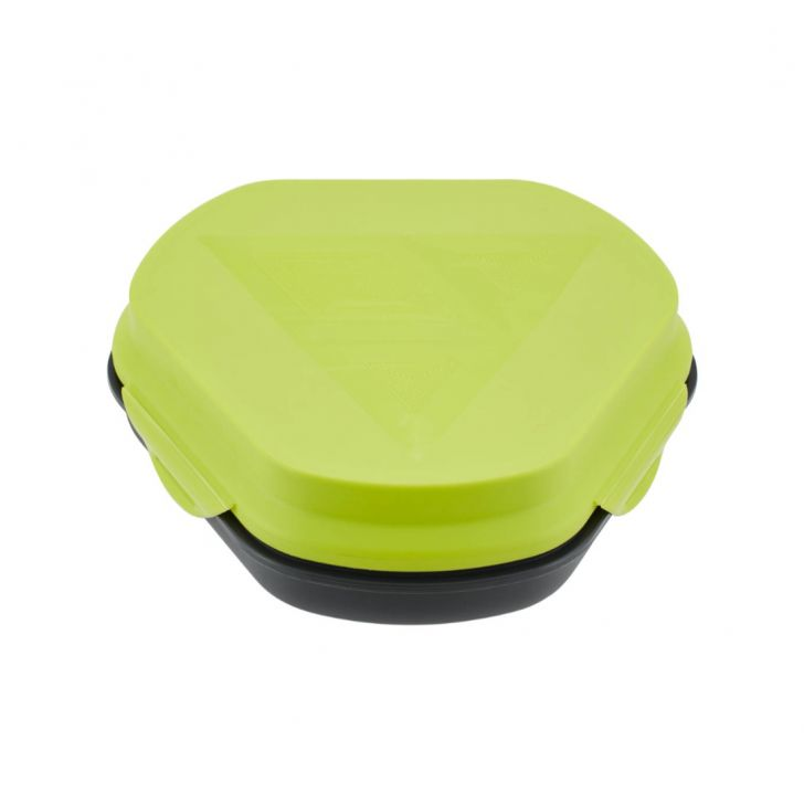 Hunger Lunch Box Green Plastic Lunch Boxes in Green Colour by Living Essence