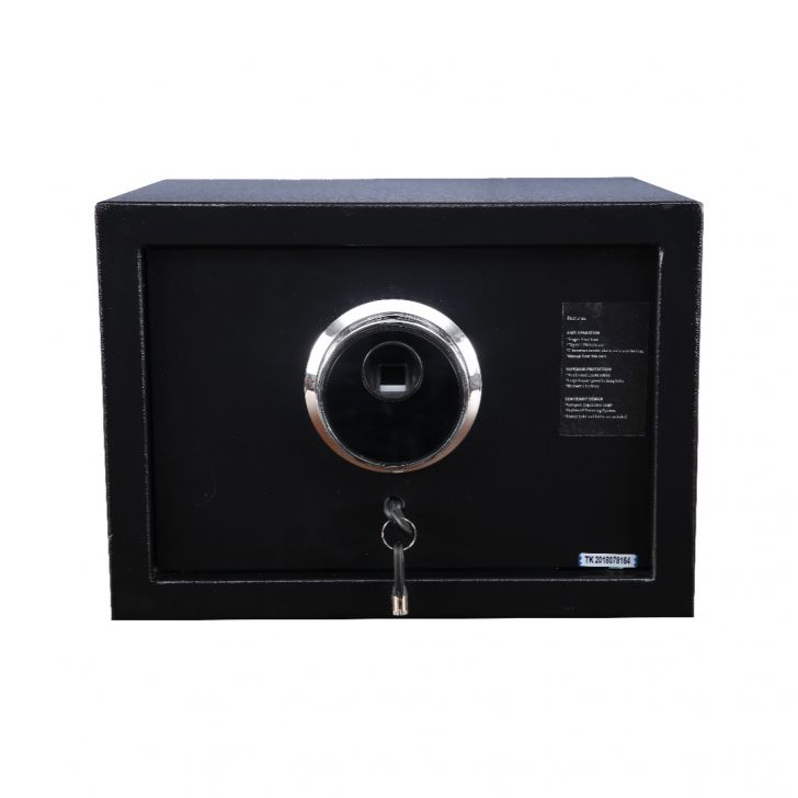 Bio Mild Steel Safe in Black Colour by from HomeTown at www.hometown.in