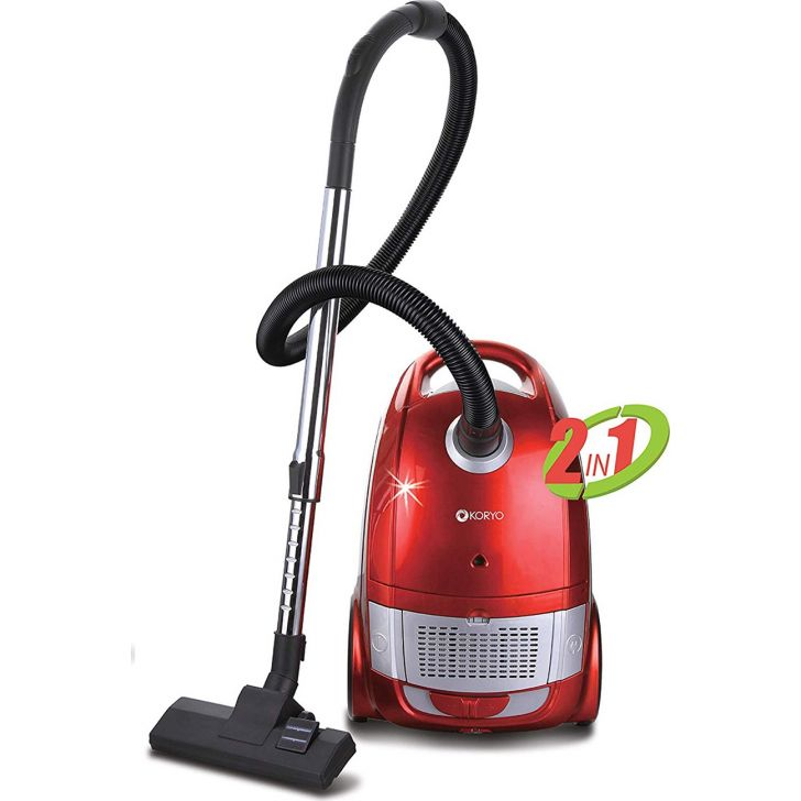 2200 W, Vacuum Cleaner - Red by Koryo