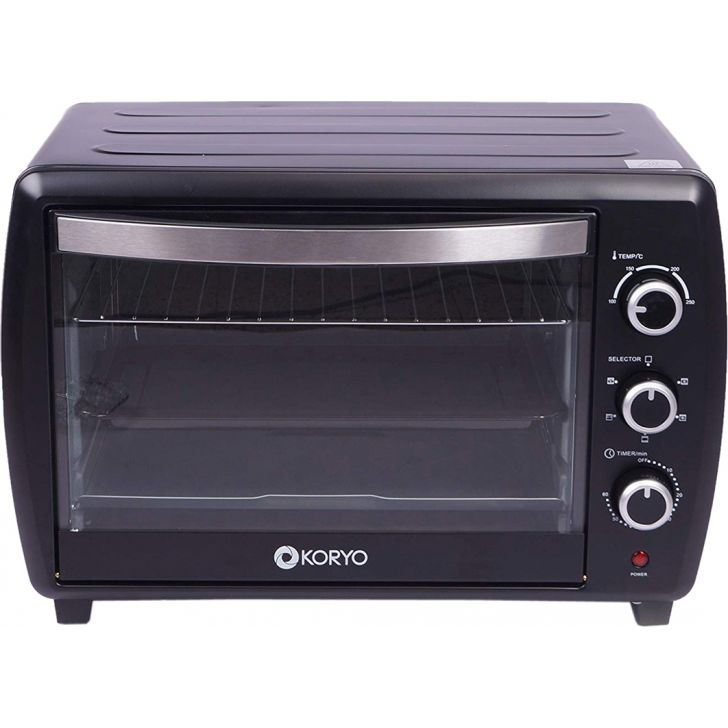 Oven Toaster Grill (1500W) - 36 Litres - Black by Koryo