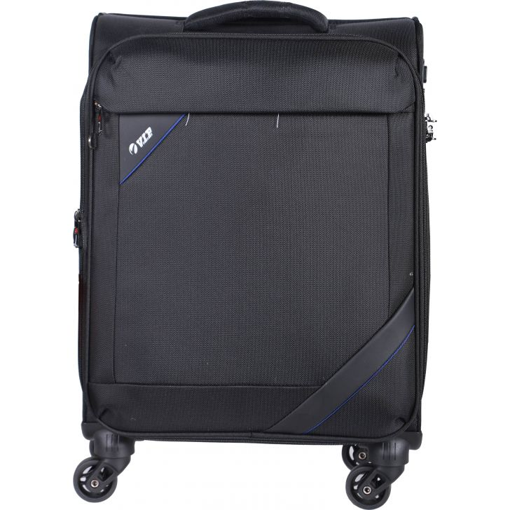 Luggage & Trolley Bags Nylon Soft Trolley in Black Colour by VIP