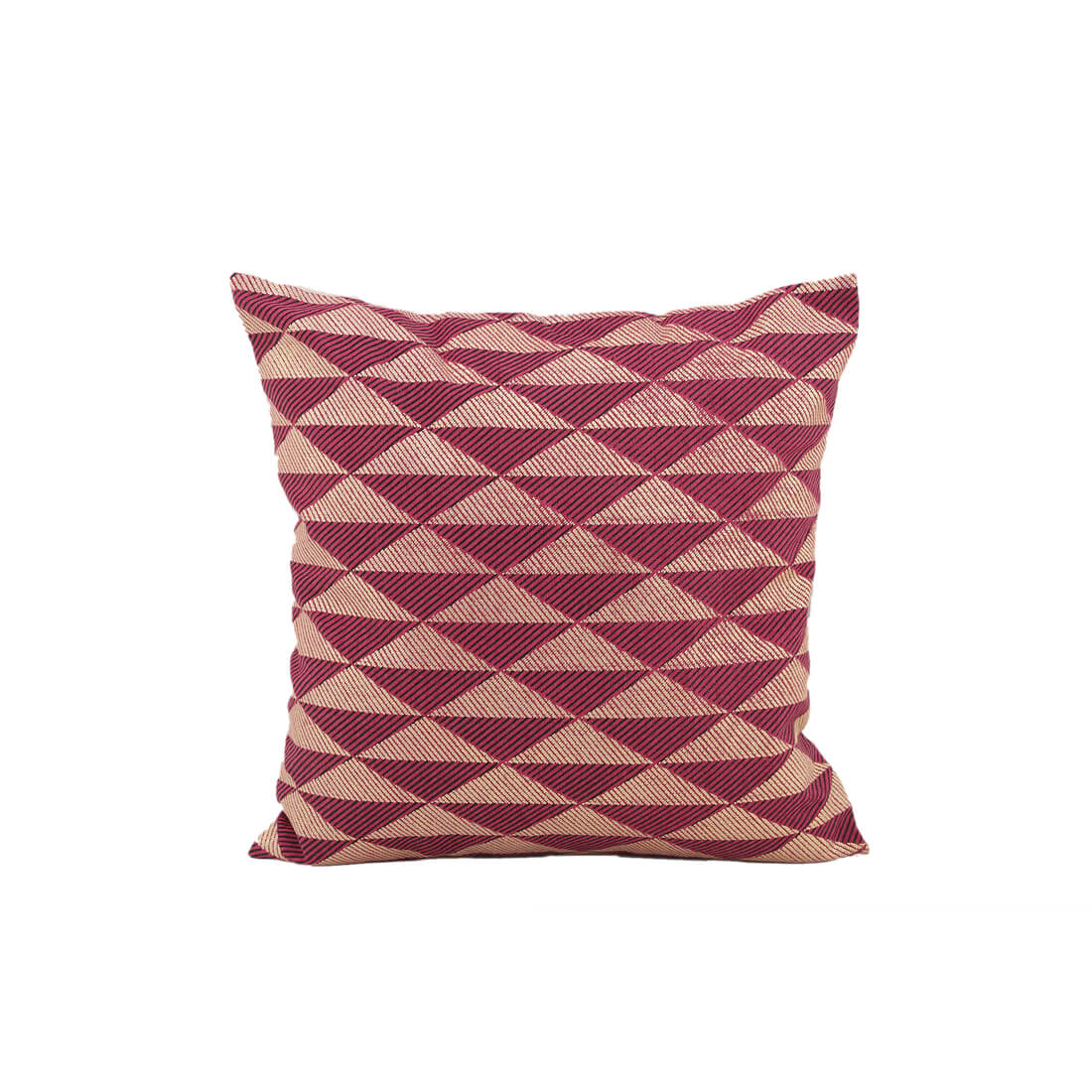 Azul Berry Cotton Cushion Covers in Berry Colour by Living Essence