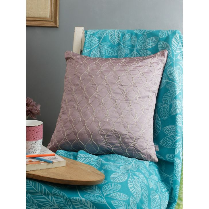 Living Essence Cushion Cover  40X40 Jaal Pale