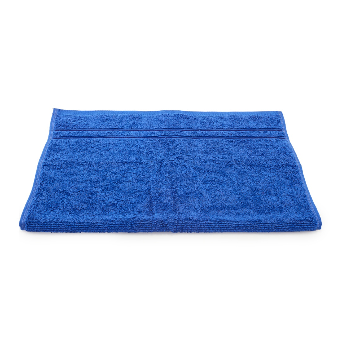 Nora Combed Cotton Hand Towels in Blue Colour by Living Essence