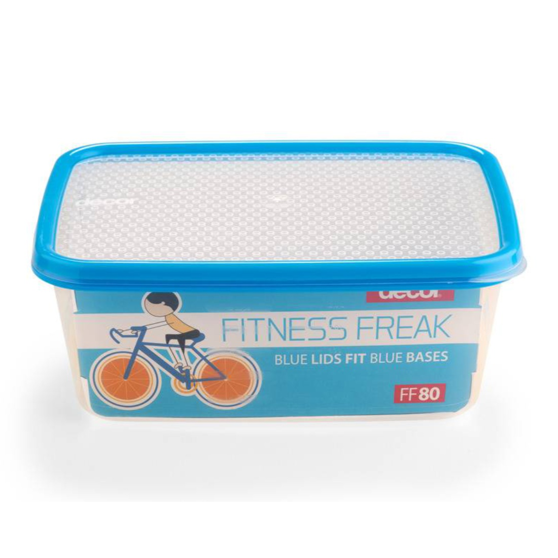 Fitness Freak 80 3.0L Plastic Containers by Decor
