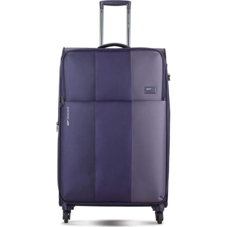 Uberlite 71 cm Polyester Soft Trolley in Purple Colour by VIP