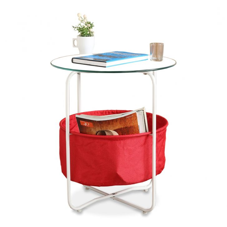 Side Fabric Outdoor Table in Multi Color Colour by HomeTown