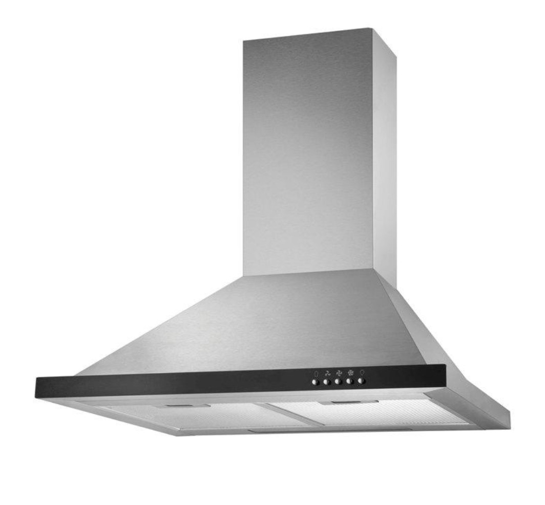Kaff Stainless steel Ray 60 Chimney by Kaff