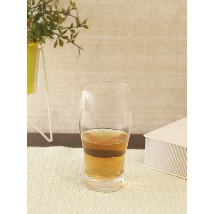 Welzenbier Glass Beer Tumbler in Transparent Colour by Living Essence