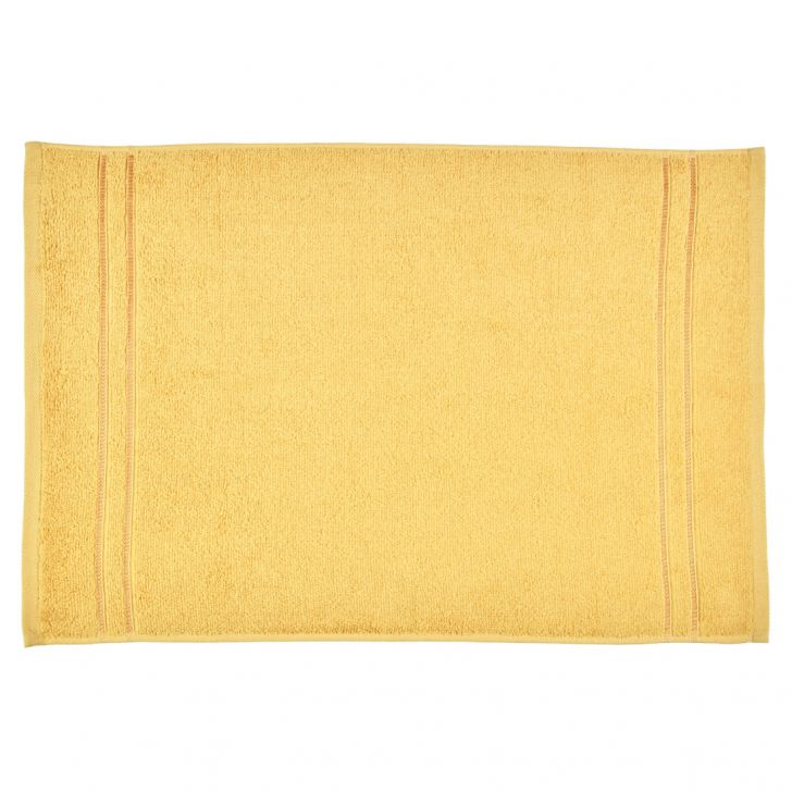 Hand Towel Nora Butterscotch Cotton Hand Towels in Cotton Colour by Living Essence
