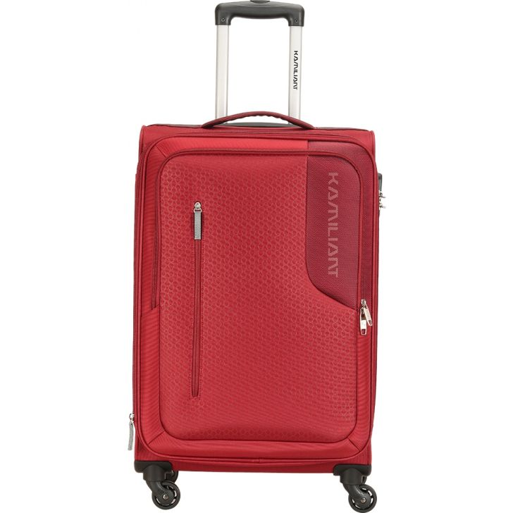 Kamilinat by American Tourister Kojo 56.5 cm Soft Trolley (Maroon)