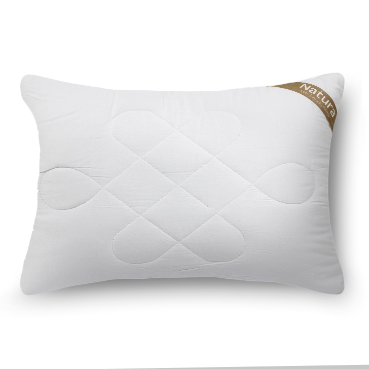 Natura Viscose Pillow White Viscose Fibre Pillows in White Colour by Living Essence