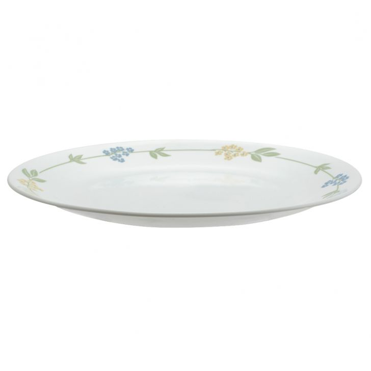 Corelle Secret Garden Dinner Plate Vitrelle Plates in White Colour by Corelle