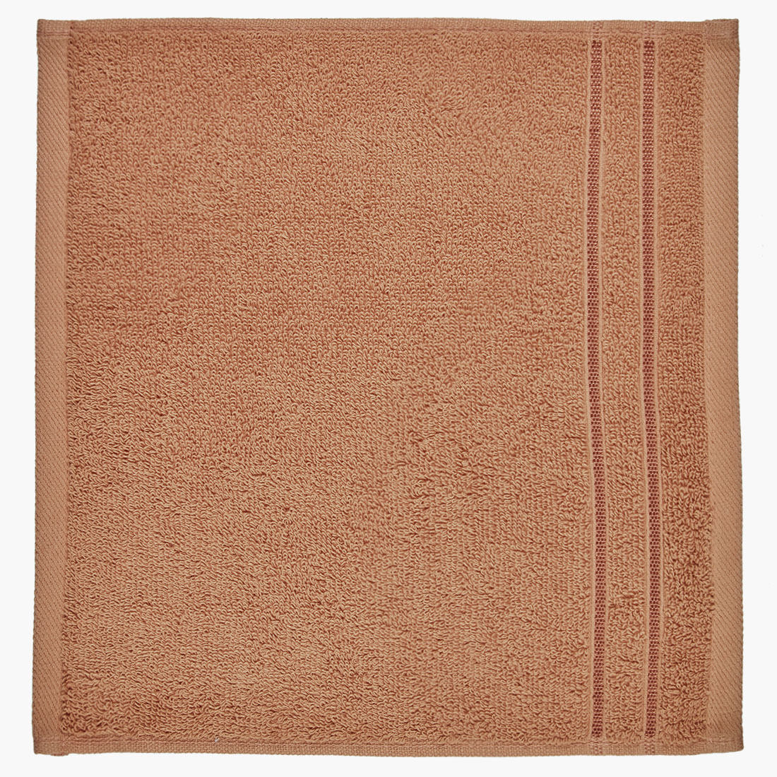 Face Towel Nora Brown Cotton Face Towels in Cotton Colour by Living Essence