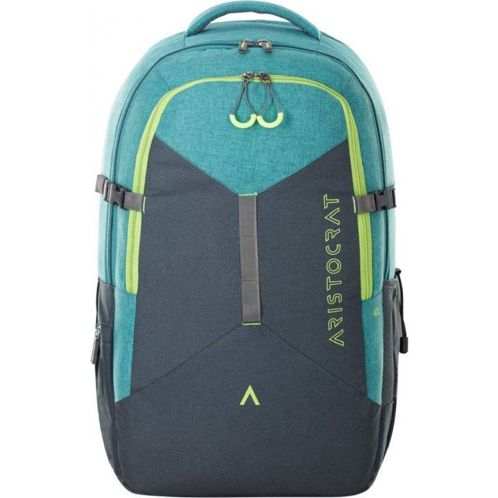 Peak 40 Ltr Polyester Rucksack in Green Colour by Aristocrat