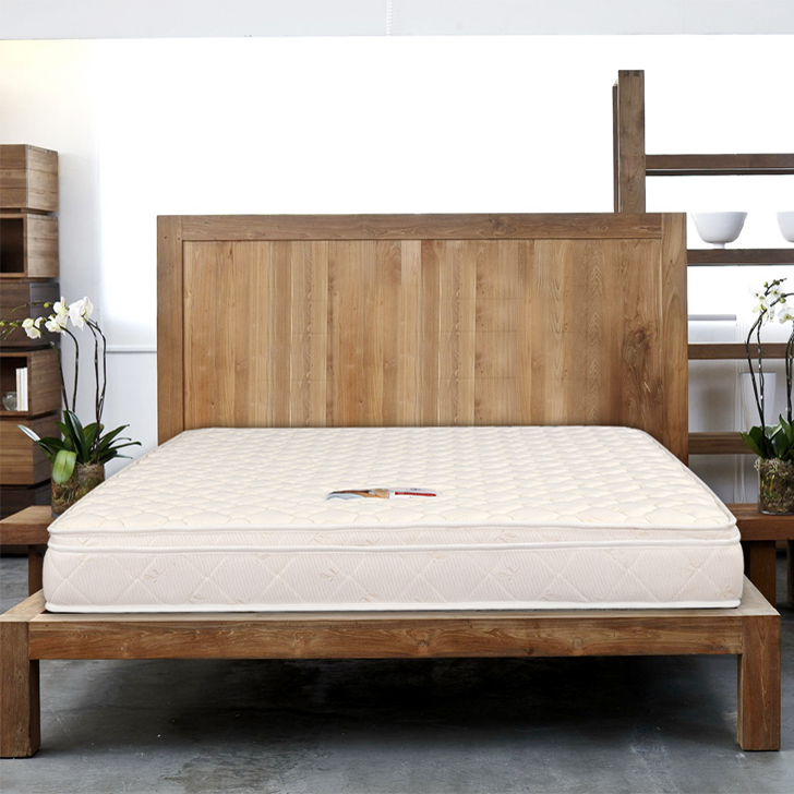 Majestic Bonnell Spring King Bed Mattress (78*72*6) in Cream Colour by HomeTown