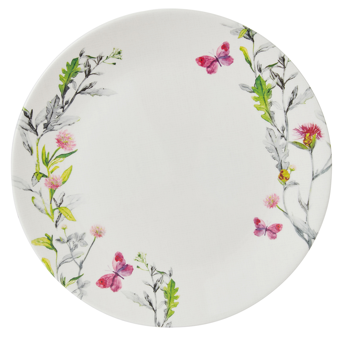 Aster Dinner Plate Plates in Multicolour Colour by Living Essence