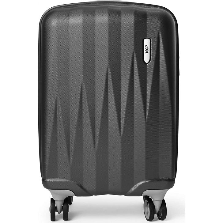 VIP Zapper 55 cm Polycarbonate Hard Trolley in Black Colour by VIP