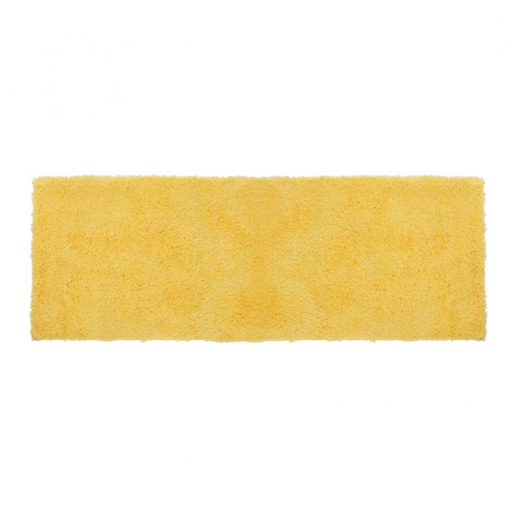 Bath Runner Nora Yellow Polyester Bedside Runners in Yellow Colour by Living Essence