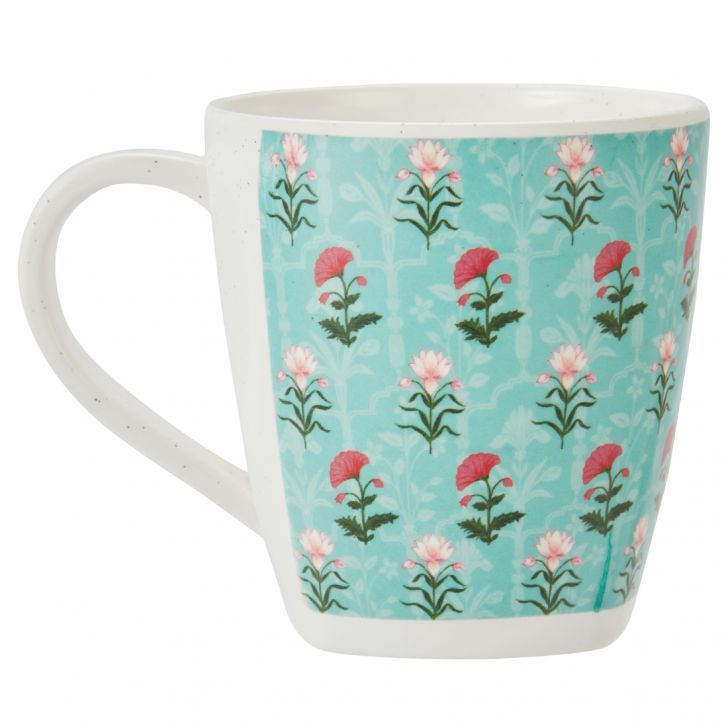 Rambagh Coffee Mug Coffee Mugs in Multicolour Colour by Living Essence