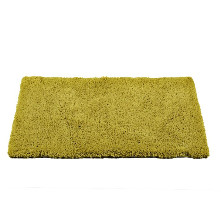 Bath Mat Nora Zest Polyester Bath Mats in Zest Colour by Living Essence