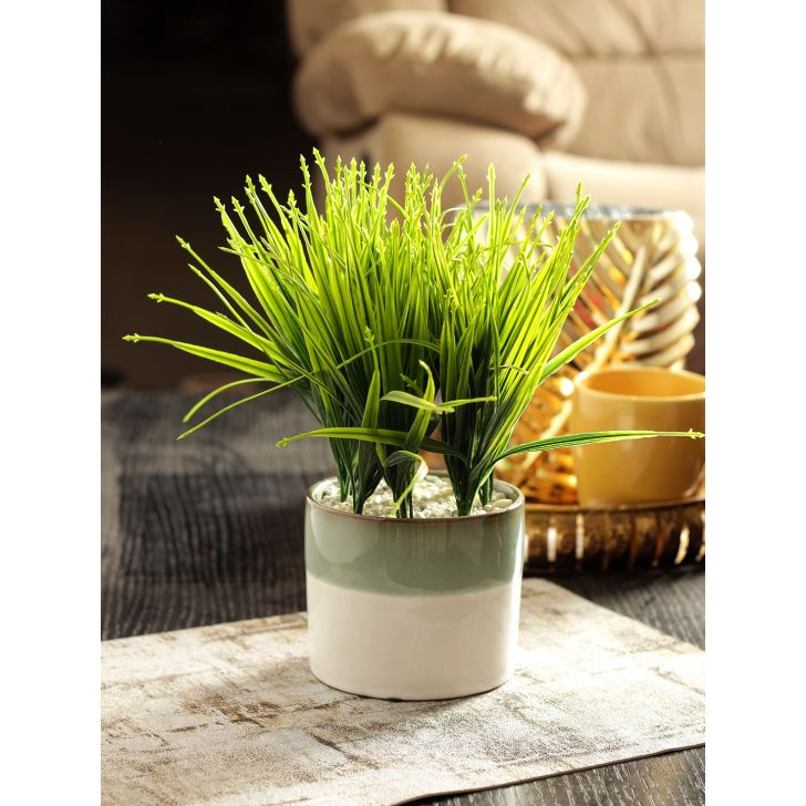 Flora Bamboo Artificial Plant in Green Colour by HomeTown