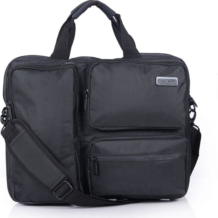 Safari Pioneer Office Bag (Black)