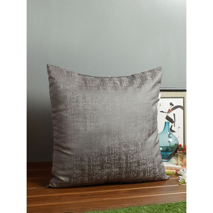 Nora Polyester Cushion Fillers in Charcoal Colour by Living Essence