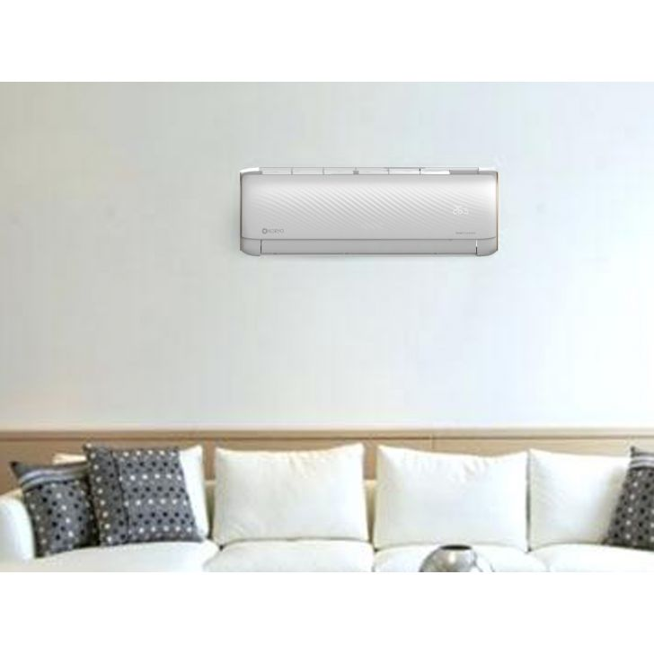 Koryo Smart WIFI 1 Ton 5 Star Split Inverter AC - (DWKSIFG2012A5S IND12, Copper Condenser) in White Colour by Koryo